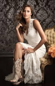 wedding dresses that go with cowboy boots wedding inspiration worthy wedding dresses