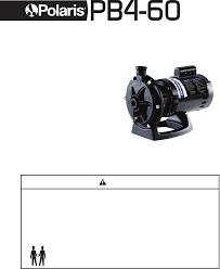 polaris booster pumps polaris pb4 60 pdf owner u0027s manual free