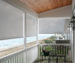 Outdoor Rolling Blinds Exterior Roller Blinds Outdoor Sun Shades Custom Sizes