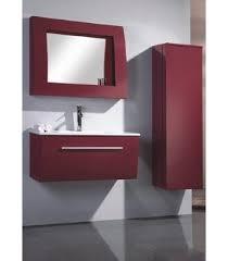Pvc Vanity Pvc Bathroom Vanity Cabinet In Pure Red P688 From Bathroom Vanity