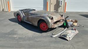 exclusive our 1958 triumph tr3 project