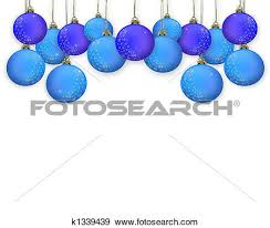 Blue Christmas Decorations Png by Blue Christmas Decorations Clipart Clipground
