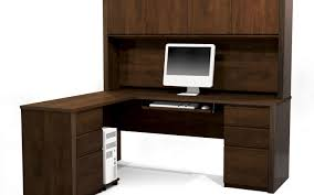 Cherry Computer Desk With Hutch Desk Business Executive Office B 39 0 Stunning Cherry Wood L