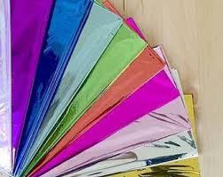 mylar tissue paper silver tissue paper etsy