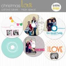 cd dvd label and cover template for photographers instant download