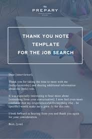 Thank You Letter Notes Samples 43 best job interview thank you note examples and wording images
