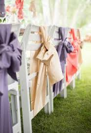 bows for wedding chairs top 4 fall wedding color combos to wedding chairs vintage