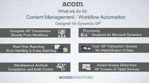 microsoft dynamics gp paperless automation david adams channels