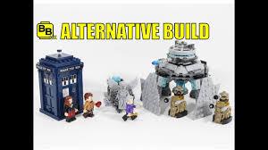 build a doctor lego ideas doctor who 21304 alternative build dalek emperor