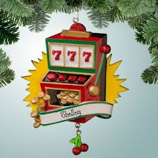 hobbies ornaments 777 slot machine personalized free