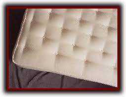 European Crib Mattress Vivetique European Tufted Organic Cotton Wool