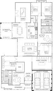 192 best home house plans images on pinterest house floor shiraz home design large four bedroom family home plunkett homes