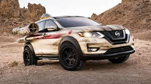 nissan rogue star wars this is a nissan rogue with star wars spec thrusters and blasters