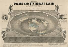 Google Maps Orlando by History Of Flat Earth Theory Orlando Ferguson U0027s Map Of The Flat