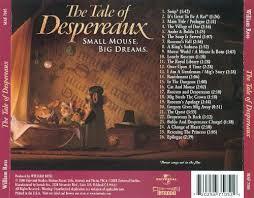 tale despereaux original motion picture soundtrack