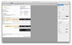 Receipt Template For Mac Billsonar Invoice Apple Mac Os X