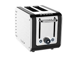 Stainless Toaster 2 Slice Black Body U0026 Stainless Steel Panels Dualit 2 Slice Architect Toaster