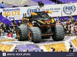 monster truck show houston new orleans la usa 20th feb 2016 el toro loco monster truck
