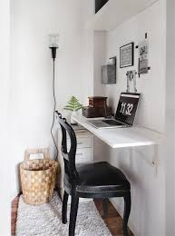 Small Desks For Small Spaces 35 Space Saving Wall Mounted Furniture And Decor Ideas Digsdigs