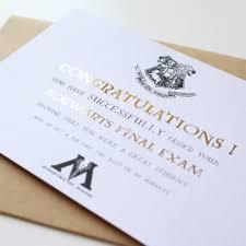 harry potter congratulations card graduation card harry potter card from mysweetpapercard on etsy