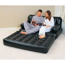 Intex Inflatable Sofa With Footrest by Airbed Sofa Centerfieldbar Com
