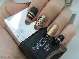 nail art black and gold black and gold black and gold the