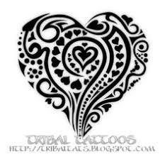 whimsical heart tattoo i l l u s t d o o d l i n g d