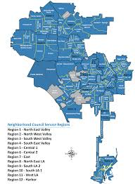 City Of Los Angeles District Map by Find My Neighborhood Council U2013 Empower La