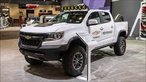 vauxhall colorado chevrolet colorado zr2 development truck sema 2017 slideshow