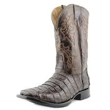 amazon com circle g by corral men u0027s caiman belly square toe