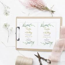 wedding invitations greenery greenery wedding invitations rustic wedding invitations connie