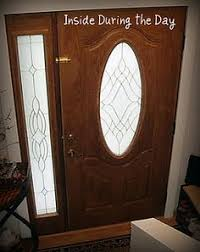 how to get oval shaped curtains for a front door stained glass