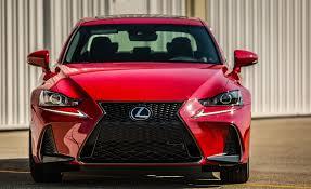 2017 lexus is 200t f sport red exterior front gallery photo 19 of 29