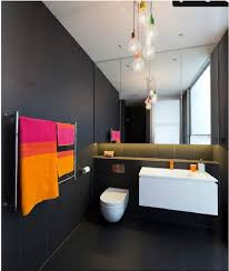 Black Bathroom Trash Can Cool Black Bathroom Decor Floor Trash Can Black Wall And Floor