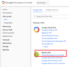 android gcm sending push notifications to android with azure notification hubs