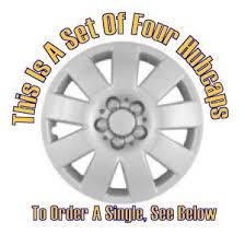 2004 toyota corolla hubcaps amazon com set of four replica 2003 2004 15 inch toyota corolla