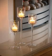 glass tea light holders set of 3 tea light glass candle holders safield distribution