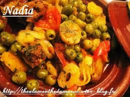 cuisine marocaine tajine agneau tajine d agneau olives et pommes de terre le de
