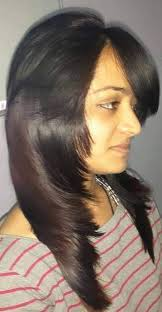 feather layered haircut which type of haircut suits me the following are my details my