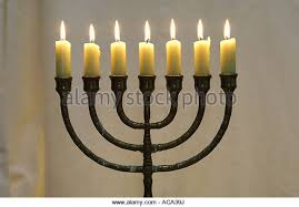 menorah 7 candles seven candles stock photos seven candles stock images alamy