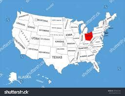 america map ohio united states map of ohio colorado river united states and canada