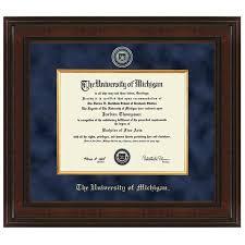 of michigan diploma frame of michigan diploma frame excelsior graduation gift