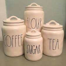 glass canisters kitchen glass flour storage glass canister glass lid airtight glass flour