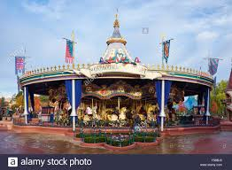 lancelot carrousel or merry go within fantasyland disneyland