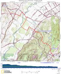 Warwick New York Map by At In New Jersey Pochuck Mountain