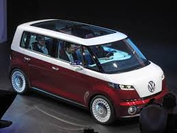 volkswagen electric concept volkswagen introduce the six seater bulli electric concept