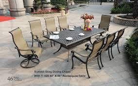 summit patio table set dwl patio furniture nj wholesale