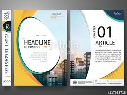 flyers design template vector business brochure report magazine