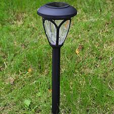 lawn stakes for lights amazon com solar garden lights outdoor decorations home decor