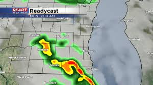 Map Of Southeast Wisconsin by Two Rounds Of Storms Could Be Strong On Monday